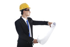 Supervisor at workplace Stock Images