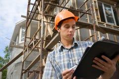 Supervisore della costruzione Fotografia Stock Libera da Diritti