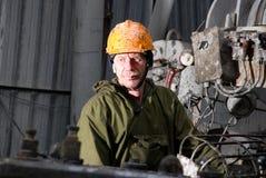 Supervisore di perforazione russo puro Fotografia Stock