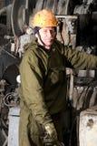 Supervisore di perforazione russo puro Fotografia Stock Libera da Diritti