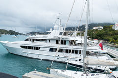 Superyacht Royalty-vrije Stock Afbeelding