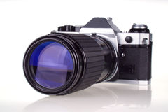 Superzoom Retro Film Camera Stock Image