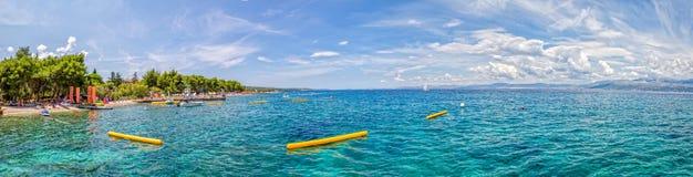 Supetar beach Bili Rat Stock Photography