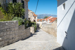 Supetar, Brac island, Croatia Royalty Free Stock Image