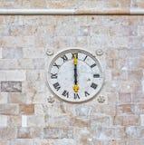 Supetar church clock Stock Photos