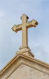 Supetar church cross Stock Images