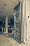 Supetar church door Stock Image