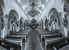 Supetar church interior Royalty Free Stock Image