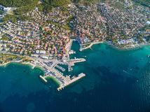 Supetar harbour Royalty Free Stock Photography