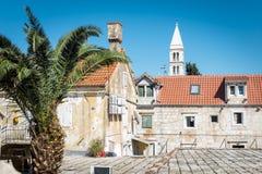 Supetar, ilha de Brac, Croácia Imagens de Stock Royalty Free