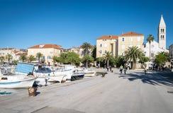 Supetar, ilha de Brac, Croácia Imagens de Stock