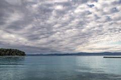Supetar, ilha de Brac, Croácia Fotos de Stock Royalty Free