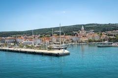 Supetar, ilha de Brac, Croácia Foto de Stock