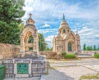 Supetar Mausoleum Petrinovic Royalty Free Stock Photos