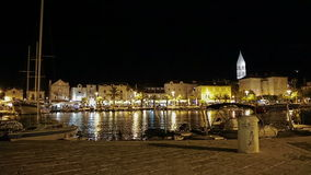 Supetar by night Royalty Free Stock Image