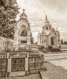 Supetar old mausoleum Royalty Free Stock Images