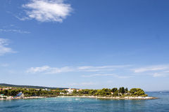 Supetar town on BRAC ISLAND Stock Photo