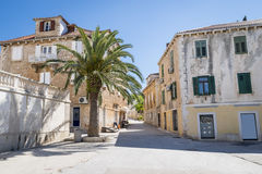 Supetar town, Brac island, Croatia Stock Images