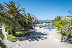 Supetar town, Brac island, Croatia Royalty Free Stock Photo