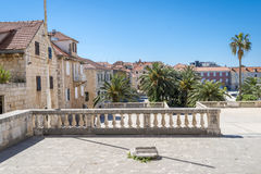 Supetar town, Brac island, Croatia Royalty Free Stock Images