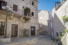 Supetar town, Brac island, Croatia Royalty Free Stock Photos