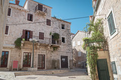 Supetar town, Brac island, Croatia Stock Photography