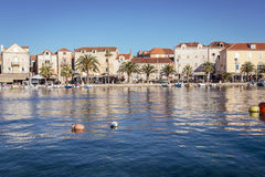 Supetar town, Brac island, Croatia Royalty Free Stock Photography
