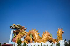 Suphan Buri Dragon Park photographie stock