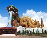 Suphanburi, Thailand Dragon Descendants Lizenzfreies Stockbild