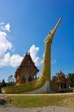 Suphannahong buddhist church. In Wat Bang Riang, PhangNga, Thailand Royalty Free Stock Photos