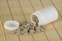 Suplementos à vitamina fotografia de stock