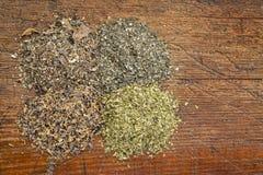 Suplementos de la alga marina Imagen de archivo