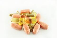 Suplementos de la vitamina Fotos de archivo libres de regalías