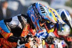 supmoto старта гонки ama неограниченное Стоковая Фотография RF