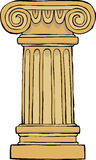 Suporte da coluna ilustração do vetor