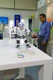 Suporte da impressora da matriz 3D da empresa Foto de Stock