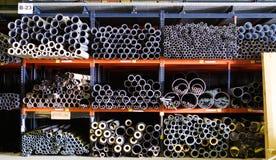 Suporte das tubulações e dos tubos imagem de stock royalty free