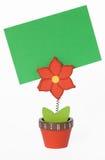 Suporte de cartão Imagens de Stock Royalty Free