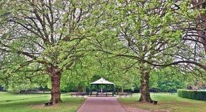 Suporte de faixa do parque Imagem de Stock Royalty Free