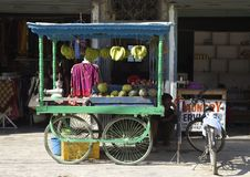 Suporte de fruto Imagem de Stock Royalty Free