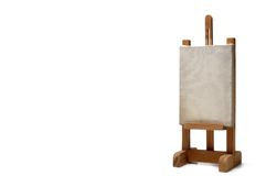 Suporte de madeira do frame Fotos de Stock
