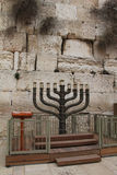 Suporte de vela judaico de hanukkah Imagens de Stock Royalty Free