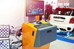 Suporte do alinhamento de roda com infravermelho Foto de Stock Royalty Free