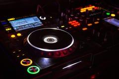 Suporte do disco-jóquei Imagens de Stock Royalty Free