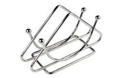 Suporte do guardanapo do metal da cozinha Imagens de Stock