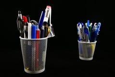 Suporte do lápis Fotografia de Stock