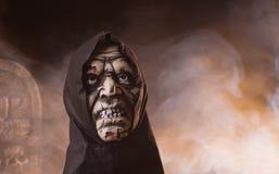 Suporte do monstro de Dia das Bruxas Fotos de Stock Royalty Free