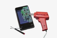 Suporte do reparo do telemóvel Imagem de Stock