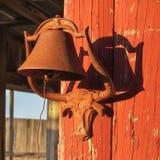 Suporte do sino do boi de Longhorn Fotos de Stock Royalty Free