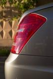 Suporte longo usado do carro da S-classe S350 de Mercedes-Benz (W221) em um stree Fotos de Stock